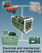 Electrical and mechanical processing and integration